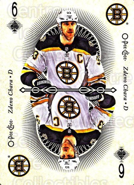 2018-19 O-Pee-Chee Playing Cards #32 Zdeno Chara<br/>1 In Stock - $3.00 each - <a href=https://centericecollectibles.foxycart.com/cart?name=2018-19%20O-Pee-Chee%20Playing%20Cards%20%2332%20Zdeno%20Chara...&quantity_max=1&price=$3.00&code=746019 class=foxycart> Buy it now! </a>