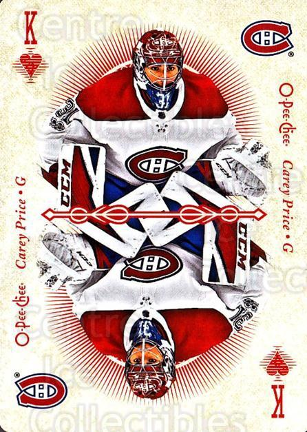 2018-19 O-Pee-Chee Playing Cards #52 Carey Price<br/>1 In Stock - $5.00 each - <a href=https://centericecollectibles.foxycart.com/cart?name=2018-19%20O-Pee-Chee%20Playing%20Cards%20%2352%20Carey%20Price...&quantity_max=1&price=$5.00&code=746039 class=foxycart> Buy it now! </a>
