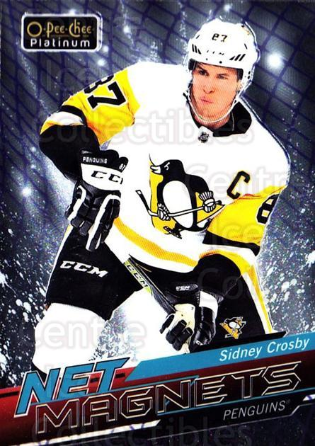 2018-19 O-pee-chee Platinum Net Magnets #5 Sidney Crosby<br/>1 In Stock - $5.00 each - <a href=https://centericecollectibles.foxycart.com/cart?name=2018-19%20O-pee-chee%20Platinum%20Net%20Magnets%20%235%20Sidney%20Crosby...&quantity_max=1&price=$5.00&code=746131 class=foxycart> Buy it now! </a>