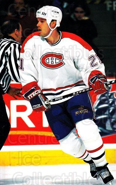 1997-98 Montreal Canadiens Postcards #8 Jassen Cullimore<br/>1 In Stock - $3.00 each - <a href=https://centericecollectibles.foxycart.com/cart?name=1997-98%20Montreal%20Canadiens%20Postcards%20%238%20Jassen%20Cullimor...&quantity_max=1&price=$3.00&code=746307 class=foxycart> Buy it now! </a>