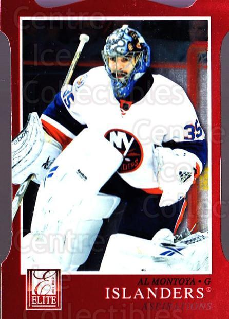2011-12 Elite Aspirations #20 Al Montoya<br/>1 In Stock - $3.00 each - <a href=https://centericecollectibles.foxycart.com/cart?name=2011-12%20Elite%20Aspirations%20%2320%20Al%20Montoya...&quantity_max=1&price=$3.00&code=746470 class=foxycart> Buy it now! </a>