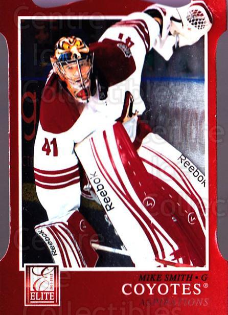 2011-12 Elite Aspirations #76 Mike Smith<br/>2 In Stock - $3.00 each - <a href=https://centericecollectibles.foxycart.com/cart?name=2011-12%20Elite%20Aspirations%20%2376%20Mike%20Smith...&quantity_max=2&price=$3.00&code=746526 class=foxycart> Buy it now! </a>