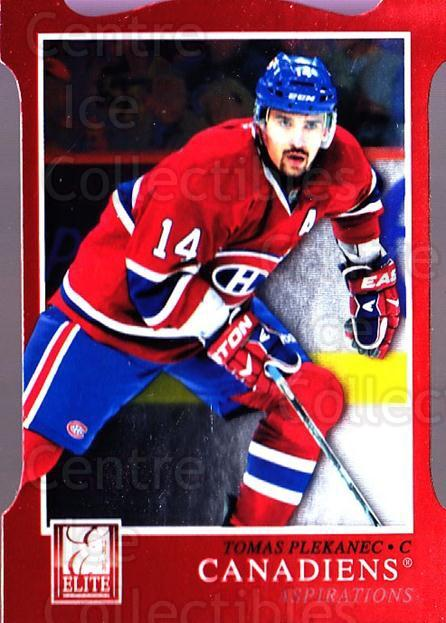 2011-12 Elite Aspirations #89 Tomas Plekanec<br/>1 In Stock - $3.00 each - <a href=https://centericecollectibles.foxycart.com/cart?name=2011-12%20Elite%20Aspirations%20%2389%20Tomas%20Plekanec...&quantity_max=1&price=$3.00&code=746539 class=foxycart> Buy it now! </a>