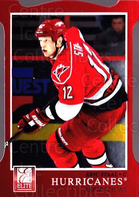 2011-12 Elite Aspirations #171 Eric Staal<br/>2 In Stock - $3.00 each - <a href=https://centericecollectibles.foxycart.com/cart?name=2011-12%20Elite%20Aspirations%20%23171%20Eric%20Staal...&quantity_max=2&price=$3.00&code=746621 class=foxycart> Buy it now! </a>