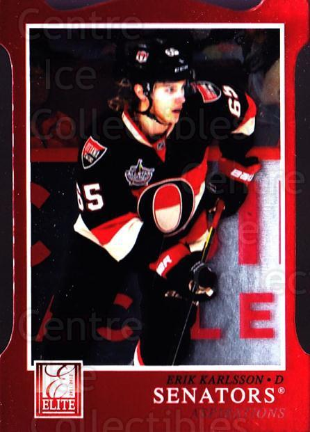 2011-12 Elite Aspirations #191 Erik Karlsson<br/>1 In Stock - $3.00 each - <a href=https://centericecollectibles.foxycart.com/cart?name=2011-12%20Elite%20Aspirations%20%23191%20Erik%20Karlsson...&quantity_max=1&price=$3.00&code=746641 class=foxycart> Buy it now! </a>