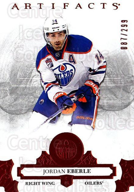 2017-18 UD Artifacts Red #20 Jordan Eberle<br/>1 In Stock - $3.00 each - <a href=https://centericecollectibles.foxycart.com/cart?name=2017-18%20UD%20Artifacts%20Red%20%2320%20Jordan%20Eberle...&quantity_max=1&price=$3.00&code=746903 class=foxycart> Buy it now! </a>