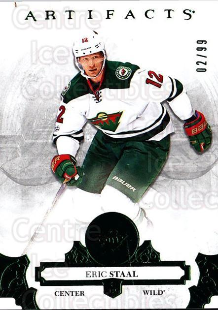 2017-18 UD Artifacts Emerald #3 Eric Staal<br/>1 In Stock - $5.00 each - <a href=https://centericecollectibles.foxycart.com/cart?name=2017-18%20UD%20Artifacts%20Emerald%20%233%20Eric%20Staal...&quantity_max=1&price=$5.00&code=746991 class=foxycart> Buy it now! </a>