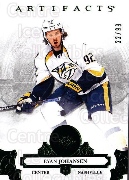 2017-18 UD Artifacts Emerald #90 Ryan Johansen<br/>2 In Stock - $5.00 each - <a href=https://centericecollectibles.foxycart.com/cart?name=2017-18%20UD%20Artifacts%20Emerald%20%2390%20Ryan%20Johansen...&quantity_max=2&price=$5.00&code=747140 class=foxycart> Buy it now! </a>