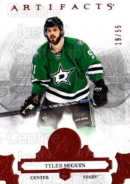 2017-18 UD Artifacts Orange #40 Tyler Seguin<br/>1 In Stock - $10.00 each - <a href=https://centericecollectibles.foxycart.com/cart?name=2017-18%20UD%20Artifacts%20Orange%20%2340%20Tyler%20Seguin...&quantity_max=1&price=$10.00&code=747238 class=foxycart> Buy it now! </a>