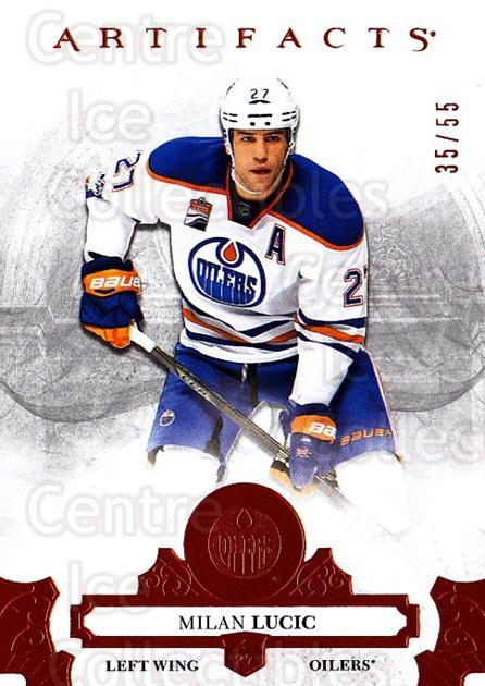 2017-18 UD Artifacts Orange #62 Milan Lucic<br/>2 In Stock - $10.00 each - <a href=https://centericecollectibles.foxycart.com/cart?name=2017-18%20UD%20Artifacts%20Orange%20%2362%20Milan%20Lucic...&quantity_max=2&price=$10.00&code=747258 class=foxycart> Buy it now! </a>