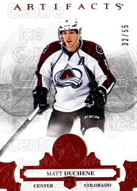2017-18 UD Artifacts Orange #91 Matt Duchene<br/>1 In Stock - $10.00 each - <a href=https://centericecollectibles.foxycart.com/cart?name=2017-18%20UD%20Artifacts%20Orange%20%2391%20Matt%20Duchene...&quantity_max=1&price=$10.00&code=747361 class=foxycart> Buy it now! </a>