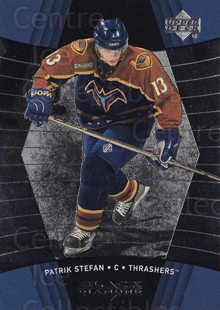 1999-00 Black Diamond #5 Patrik Stefan<br/>2 In Stock - $1.00 each - <a href=https://centericecollectibles.foxycart.com/cart?name=1999-00%20Black%20Diamond%20%235%20Patrik%20Stefan...&quantity_max=2&price=$1.00&code=74743 class=foxycart> Buy it now! </a>
