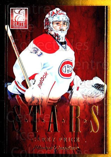 2011-12 Elite Stars #9 Carey Price<br/>1 In Stock - $10.00 each - <a href=https://centericecollectibles.foxycart.com/cart?name=2011-12%20Elite%20Stars%20%239%20Carey%20Price...&quantity_max=1&price=$10.00&code=747517 class=foxycart> Buy it now! </a>