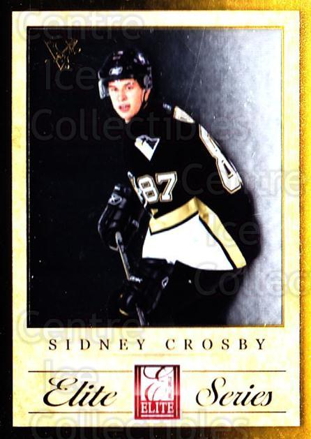 2011-12 Elite Series Sidney Crosby #1 Sidney Crosby<br/>1 In Stock - $5.00 each - <a href=https://centericecollectibles.foxycart.com/cart?name=2011-12%20Elite%20Series%20Sidney%20Crosby%20%231%20Sidney%20Crosby...&quantity_max=1&price=$5.00&code=747519 class=foxycart> Buy it now! </a>