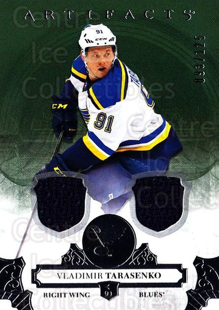 2017-18 UD Artifacts Material Silver #130 Vladimir Tarasenko<br/>1 In Stock - $10.00 each - <a href=https://centericecollectibles.foxycart.com/cart?name=2017-18%20UD%20Artifacts%20Material%20Silver%20%23130%20Vladimir%20Tarase...&quantity_max=1&price=$10.00&code=747658 class=foxycart> Buy it now! </a>
