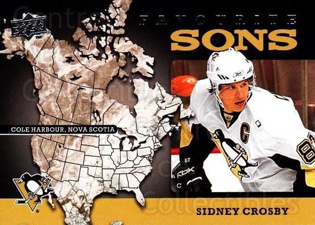 2008-09 Upper Deck Favourite Sons #4 Sidney Crosby<br/>1 In Stock - $5.00 each - <a href=https://centericecollectibles.foxycart.com/cart?name=2008-09%20Upper%20Deck%20Favourite%20Sons%20%234%20Sidney%20Crosby...&quantity_max=1&price=$5.00&code=747782 class=foxycart> Buy it now! </a>