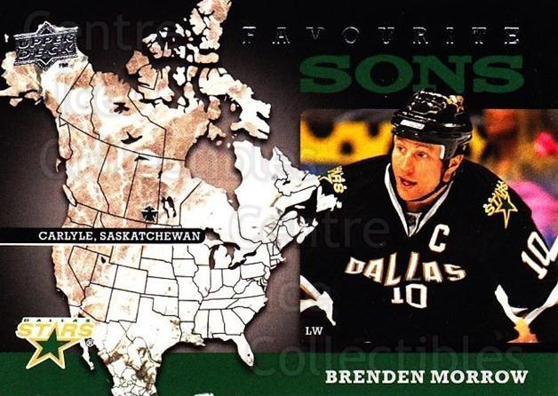 2008-09 Upper Deck Favourite Sons #8 Brenden Morrow<br/>1 In Stock - $3.00 each - <a href=https://centericecollectibles.foxycart.com/cart?name=2008-09%20Upper%20Deck%20Favourite%20Sons%20%238%20Brenden%20Morrow...&quantity_max=1&price=$3.00&code=747786 class=foxycart> Buy it now! </a>