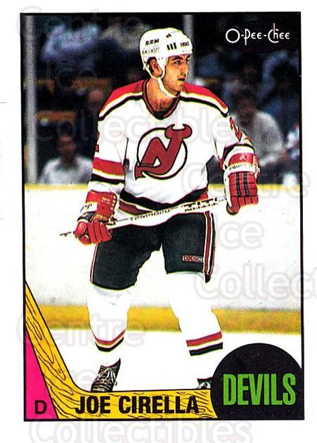 1987-88 O-pee-chee Blank Backs #170 Joe Cirella<br/>1 In Stock - $5.00 each - <a href=https://centericecollectibles.foxycart.com/cart?name=1987-88%20O-pee-chee%20Blank%20Backs%20%23170%20Joe%20Cirella...&quantity_max=1&price=$5.00&code=747899 class=foxycart> Buy it now! </a>