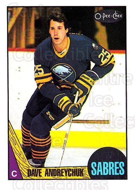 1987-88 O-pee-chee Blank Backs #3 Dave Andreychuk<br/>1 In Stock - $5.00 each - <a href=https://centericecollectibles.foxycart.com/cart?name=1987-88%20O-pee-chee%20Blank%20Backs%20%233%20Dave%20Andreychuk...&quantity_max=1&price=$5.00&code=747996 class=foxycart> Buy it now! </a>