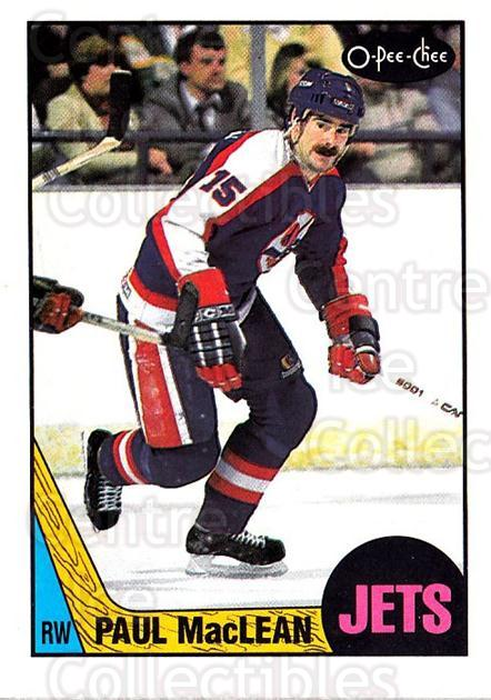 1987-88 O-pee-chee Blank Backs #91 Paul MacLean<br/>1 In Stock - $5.00 each - <a href=https://centericecollectibles.foxycart.com/cart?name=1987-88%20O-pee-chee%20Blank%20Backs%20%2391%20Paul%20MacLean...&quantity_max=1&price=$5.00&code=748059 class=foxycart> Buy it now! </a>
