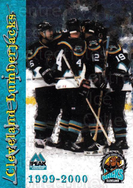 1999-00 Cleveland Lumberjacks #24 Header Card<br/>4 In Stock - $3.00 each - <a href=https://centericecollectibles.foxycart.com/cart?name=1999-00%20Cleveland%20Lumberjacks%20%2324%20Header%20Card...&price=$3.00&code=74826 class=foxycart> Buy it now! </a>