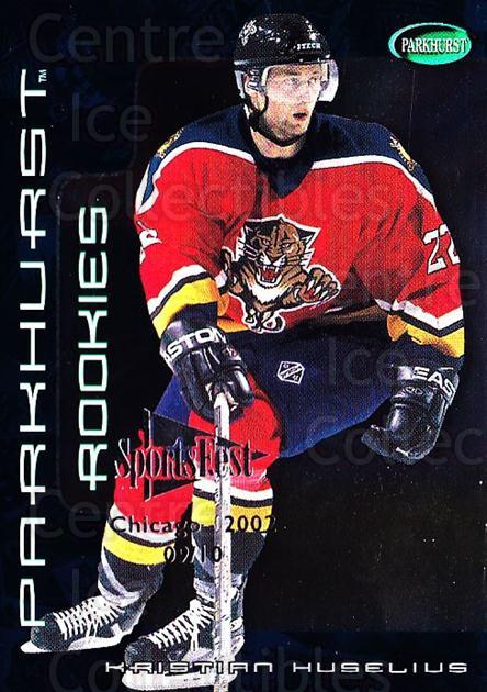 2001-02 Parkhurst SportsFest #261 Kristian Huselius<br/>1 In Stock - $10.00 each - <a href=https://centericecollectibles.foxycart.com/cart?name=2001-02%20Parkhurst%20SportsFest%20%23261%20Kristian%20Huseli...&quantity_max=1&price=$10.00&code=748368 class=foxycart> Buy it now! </a>