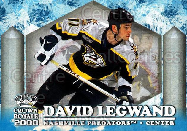 1999-00 Crown Royale Ice Elite #15 David Legwand<br/>4 In Stock - $2.00 each - <a href=https://centericecollectibles.foxycart.com/cart?name=1999-00%20Crown%20Royale%20Ice%20Elite%20%2315%20David%20Legwand...&quantity_max=4&price=$2.00&code=74861 class=foxycart> Buy it now! </a>