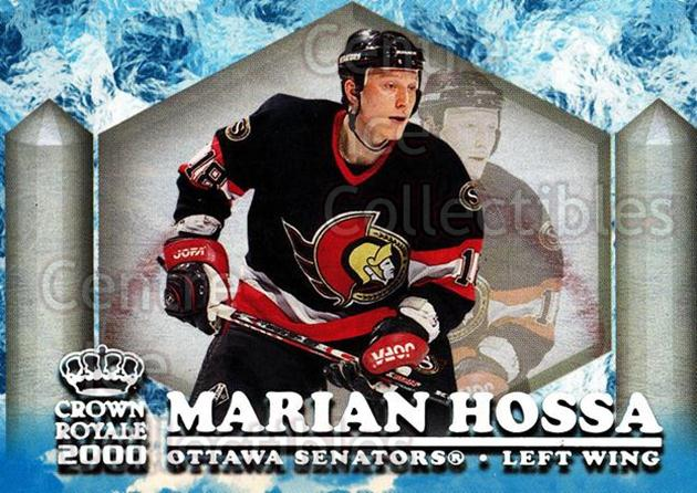 1999-00 Crown Royale Ice Elite #18 Marian Hossa<br/>7 In Stock - $2.00 each - <a href=https://centericecollectibles.foxycart.com/cart?name=1999-00%20Crown%20Royale%20Ice%20Elite%20%2318%20Marian%20Hossa...&quantity_max=7&price=$2.00&code=74863 class=foxycart> Buy it now! </a>