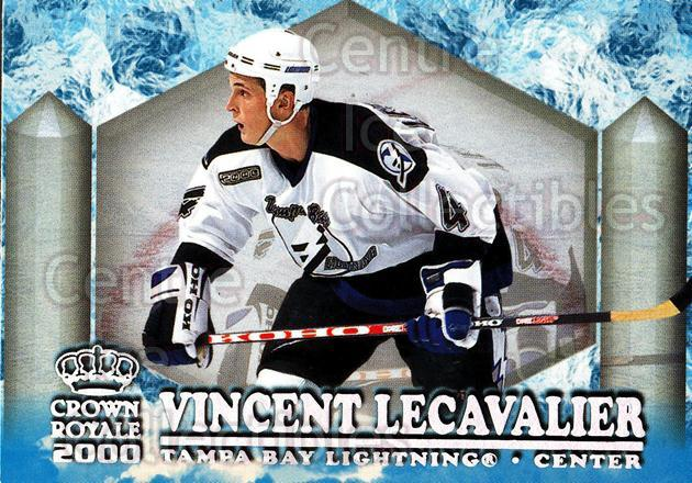 1999-00 Crown Royale Ice Elite #23 Vincent Lecavalier<br/>6 In Stock - $2.00 each - <a href=https://centericecollectibles.foxycart.com/cart?name=1999-00%20Crown%20Royale%20Ice%20Elite%20%2323%20Vincent%20Lecaval...&quantity_max=6&price=$2.00&code=74868 class=foxycart> Buy it now! </a>