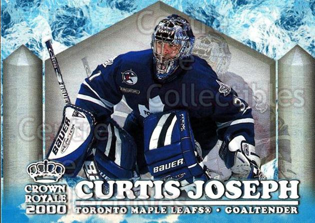1999-00 Crown Royale Ice Elite #24 Curtis Joseph<br/>3 In Stock - $2.00 each - <a href=https://centericecollectibles.foxycart.com/cart?name=1999-00%20Crown%20Royale%20Ice%20Elite%20%2324%20Curtis%20Joseph...&quantity_max=3&price=$2.00&code=74869 class=foxycart> Buy it now! </a>