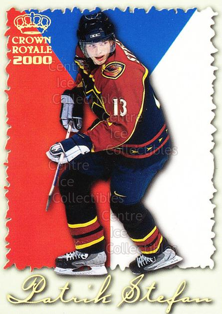 1999-00 Crown Royale International Glory #2 Patrik Stefan<br/>6 In Stock - $2.00 each - <a href=https://centericecollectibles.foxycart.com/cart?name=1999-00%20Crown%20Royale%20International%20Glory%20%232%20Patrik%20Stefan...&quantity_max=6&price=$2.00&code=74883 class=foxycart> Buy it now! </a>