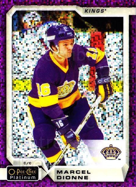 2018-19 O-Pee-Chee Platinum Violet Pixels #147 Marcel Dionne<br/>1 In Stock - $5.00 each - <a href=https://centericecollectibles.foxycart.com/cart?name=2018-19%20O-Pee-Chee%20Platinum%20Violet%20Pixels%20%23147%20Marcel%20Dionne...&quantity_max=1&price=$5.00&code=748972 class=foxycart> Buy it now! </a>