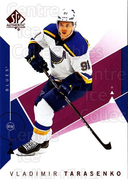2018-19 Sp Authentic Red #62 Vladimir Tarasenko<br/>1 In Stock - $2.00 each - <a href=https://centericecollectibles.foxycart.com/cart?name=2018-19%20Sp%20Authentic%20Red%20%2362%20Vladimir%20Tarase...&quantity_max=1&price=$2.00&code=749332 class=foxycart> Buy it now! </a>
