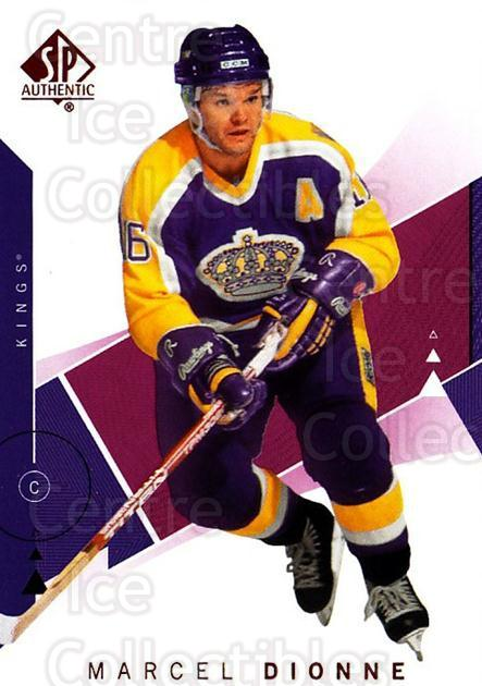 2018-19 Sp Authentic Red #98 Marcel Dionne<br/>1 In Stock - $3.00 each - <a href=https://centericecollectibles.foxycart.com/cart?name=2018-19%20Sp%20Authentic%20Red%20%2398%20Marcel%20Dionne...&quantity_max=1&price=$3.00&code=749368 class=foxycart> Buy it now! </a>