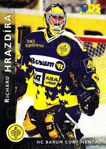 1999-00 Czech DS #1 Richard Hrazdira<br/>6 In Stock - $2.00 each - <a href=https://centericecollectibles.foxycart.com/cart?name=1999-00%20Czech%20DS%20%231%20Richard%20Hrazdir...&quantity_max=6&price=$2.00&code=75073 class=foxycart> Buy it now! </a>