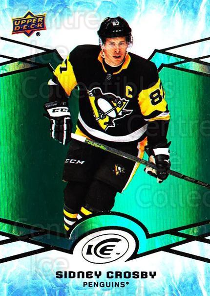 2018-19 UD Ice Green #16 Sidney Crosby<br/>2 In Stock - $10.00 each - <a href=https://centericecollectibles.foxycart.com/cart?name=2018-19%20UD%20Ice%20Green%20%2316%20Sidney%20Crosby...&quantity_max=2&price=$10.00&code=750806 class=foxycart> Buy it now! </a>