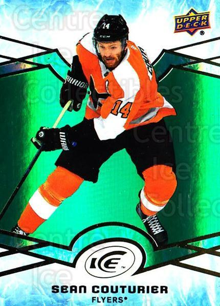 2018-19 UD Ice Green #25 Sean Couturier<br/>3 In Stock - $3.00 each - <a href=https://centericecollectibles.foxycart.com/cart?name=2018-19%20UD%20Ice%20Green%20%2325%20Sean%20Couturier...&quantity_max=3&price=$3.00&code=750815 class=foxycart> Buy it now! </a>