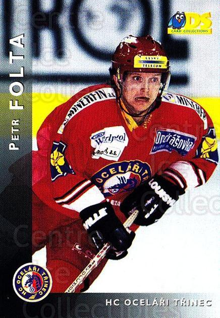 1999-00 Czech DS #110 Petr Folta<br/>9 In Stock - $2.00 each - <a href=https://centericecollectibles.foxycart.com/cart?name=1999-00%20Czech%20DS%20%23110%20Petr%20Folta...&quantity_max=9&price=$2.00&code=75084 class=foxycart> Buy it now! </a>