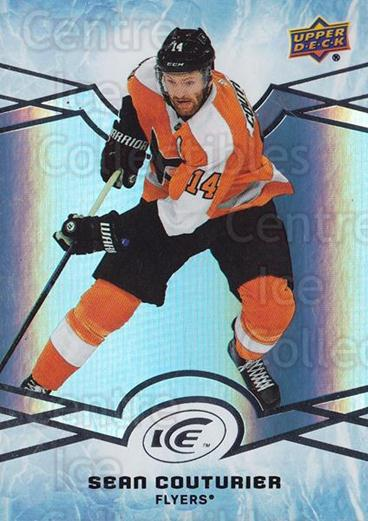 2018-19 UD Ice #25 Sean Couturier<br/>4 In Stock - $1.00 each - <a href=https://centericecollectibles.foxycart.com/cart?name=2018-19%20UD%20Ice%20%2325%20Sean%20Couturier...&quantity_max=4&price=$1.00&code=750915 class=foxycart> Buy it now! </a>