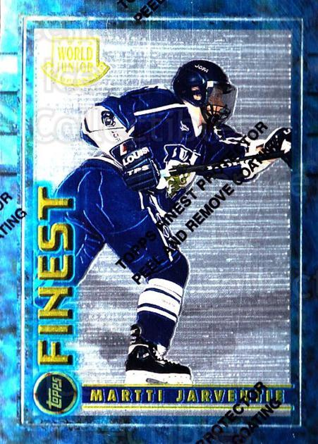 1994-95 Finest #130 Martti Jarventie<br/>5 In Stock - $1.00 each - <a href=https://centericecollectibles.foxycart.com/cart?name=1994-95%20Finest%20%23130%20Martti%20Jarventi...&quantity_max=5&price=$1.00&code=750 class=foxycart> Buy it now! </a>