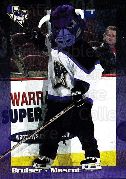 2001-02 Fort Worth Brahmas #20 Mascot<br/>1 In Stock - $3.00 each - <a href=https://centericecollectibles.foxycart.com/cart?name=2001-02%20Fort%20Worth%20Brahmas%20%2320%20Mascot...&quantity_max=1&price=$3.00&code=751641 class=foxycart> Buy it now! </a>