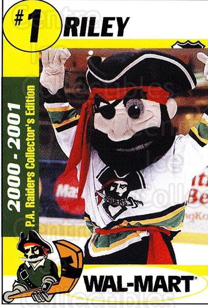 2000-01 Prince Albert Raiders #25 Mascot<br/>1 In Stock - $3.00 each - <a href=https://centericecollectibles.foxycart.com/cart?name=2000-01%20Prince%20Albert%20Raiders%20%2325%20Mascot...&quantity_max=1&price=$3.00&code=751693 class=foxycart> Buy it now! </a>