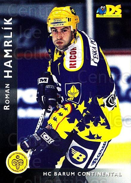 1999-00 Czech DS #3 Roman Hamrlik<br/>2 In Stock - $2.00 each - <a href=https://centericecollectibles.foxycart.com/cart?name=1999-00%20Czech%20DS%20%233%20Roman%20Hamrlik...&quantity_max=2&price=$2.00&code=75170 class=foxycart> Buy it now! </a>
