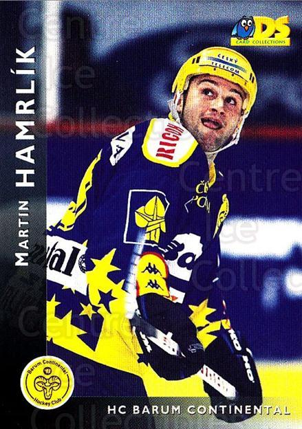 1999-00 Czech DS #4 Martin Hamrlik<br/>6 In Stock - $2.00 each - <a href=https://centericecollectibles.foxycart.com/cart?name=1999-00%20Czech%20DS%20%234%20Martin%20Hamrlik...&quantity_max=6&price=$2.00&code=75178 class=foxycart> Buy it now! </a>