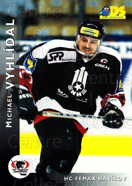1999-00 Czech DS #45 Michael Vyhlidal<br/>6 In Stock - $2.00 each - <a href=https://centericecollectibles.foxycart.com/cart?name=1999-00%20Czech%20DS%20%2345%20Michael%20Vyhlida...&quantity_max=6&price=$2.00&code=75184 class=foxycart> Buy it now! </a>