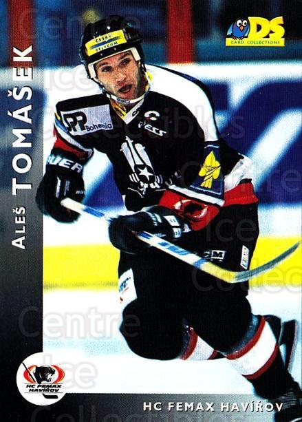1999-00 Czech DS #48 Ales Tomasek<br/>7 In Stock - $2.00 each - <a href=https://centericecollectibles.foxycart.com/cart?name=1999-00%20Czech%20DS%20%2348%20Ales%20Tomasek...&quantity_max=7&price=$2.00&code=75187 class=foxycart> Buy it now! </a>