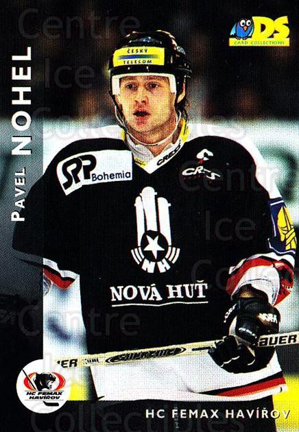 1999-00 Czech DS #50 Pavel Nohel<br/>5 In Stock - $2.00 each - <a href=https://centericecollectibles.foxycart.com/cart?name=1999-00%20Czech%20DS%20%2350%20Pavel%20Nohel...&quantity_max=5&price=$2.00&code=75190 class=foxycart> Buy it now! </a>