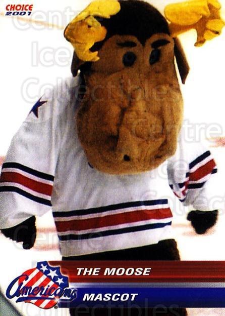 2000-01 Rochester Americans #28 Mascot<br/>1 In Stock - $3.00 each - <a href=https://centericecollectibles.foxycart.com/cart?name=2000-01%20Rochester%20Americans%20%2328%20Mascot...&quantity_max=1&price=$3.00&code=752388 class=foxycart> Buy it now! </a>