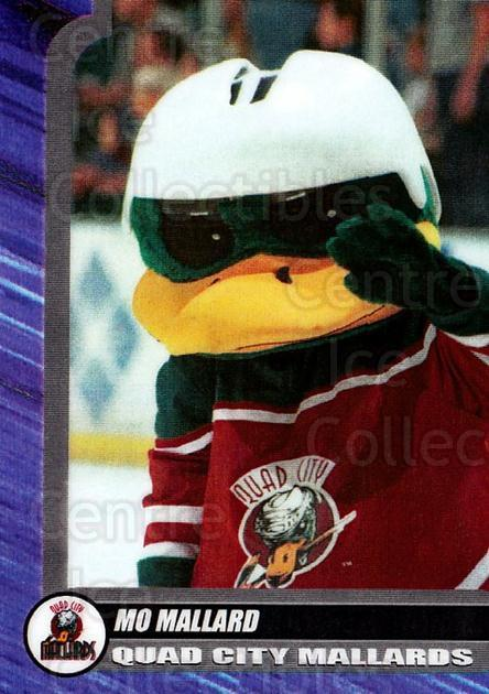 2000-01 Quad City Mallards #26 Mascot<br/>1 In Stock - $3.00 each - <a href=https://centericecollectibles.foxycart.com/cart?name=2000-01%20Quad%20City%20Mallards%20%2326%20Mascot...&quantity_max=1&price=$3.00&code=752447 class=foxycart> Buy it now! </a>