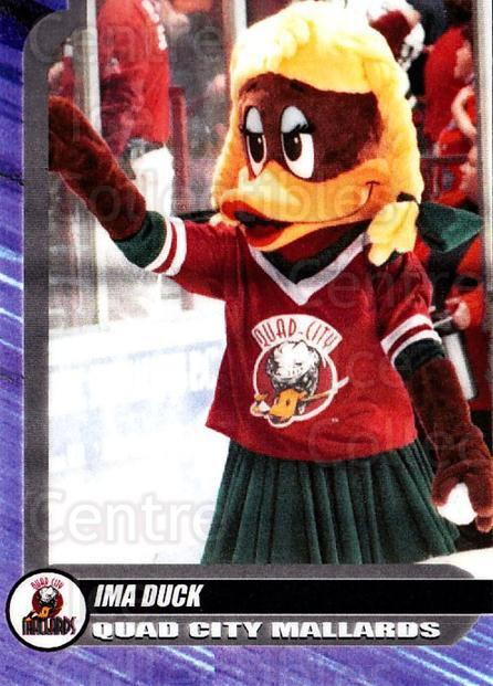 2000-01 Quad City Mallards #27 Mascot<br/>1 In Stock - $3.00 each - <a href=https://centericecollectibles.foxycart.com/cart?name=2000-01%20Quad%20City%20Mallards%20%2327%20Mascot...&quantity_max=1&price=$3.00&code=752448 class=foxycart> Buy it now! </a>